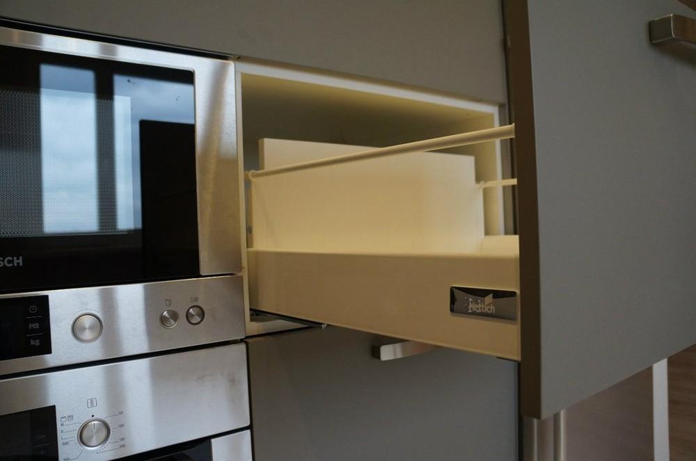 Белый кухонный гарнитур-Кухня из ЛДСП «Модель 196»-фото7