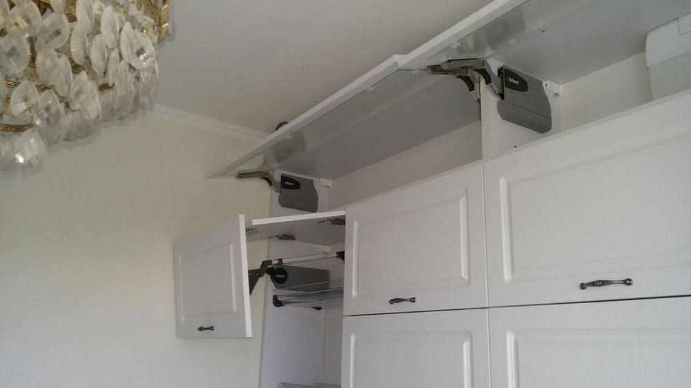 Акриловые кухни-Кухня МДФ в эмали «Модель 192»-фото2