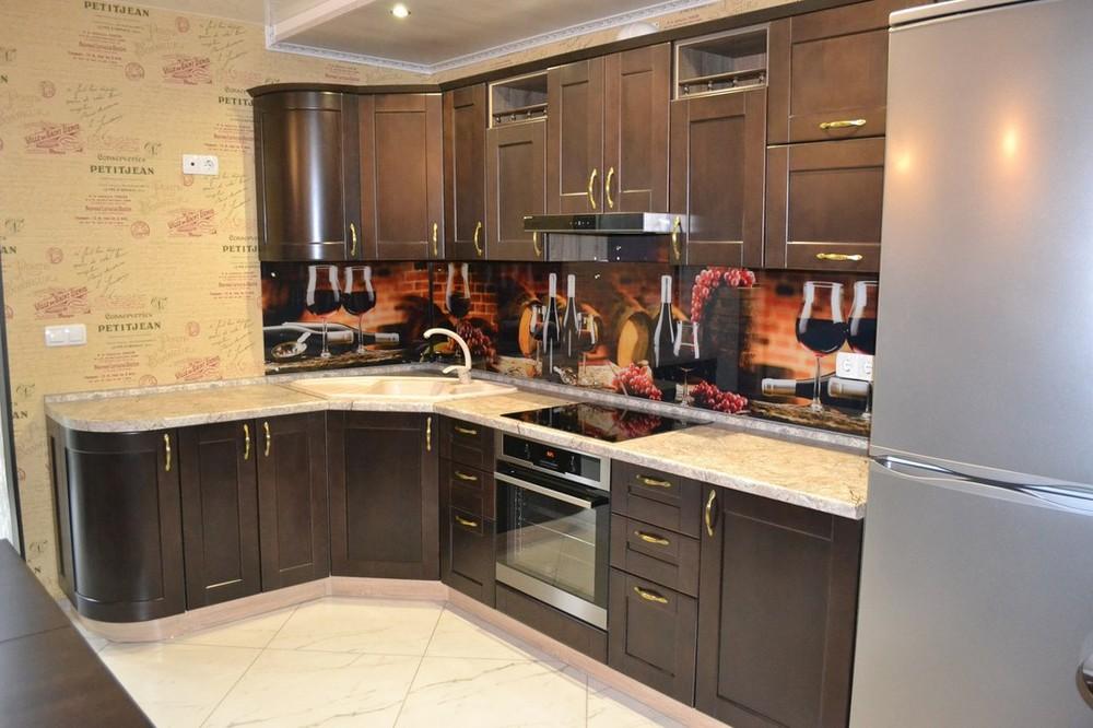 Классические кухни-Кухня из массива «Модель 160»-фото2
