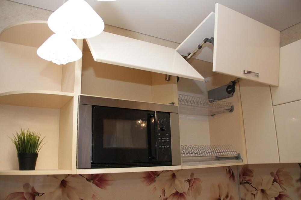 Встроенная кухня-Кухня МДФ в ПВХ «Модель 141»-фото8