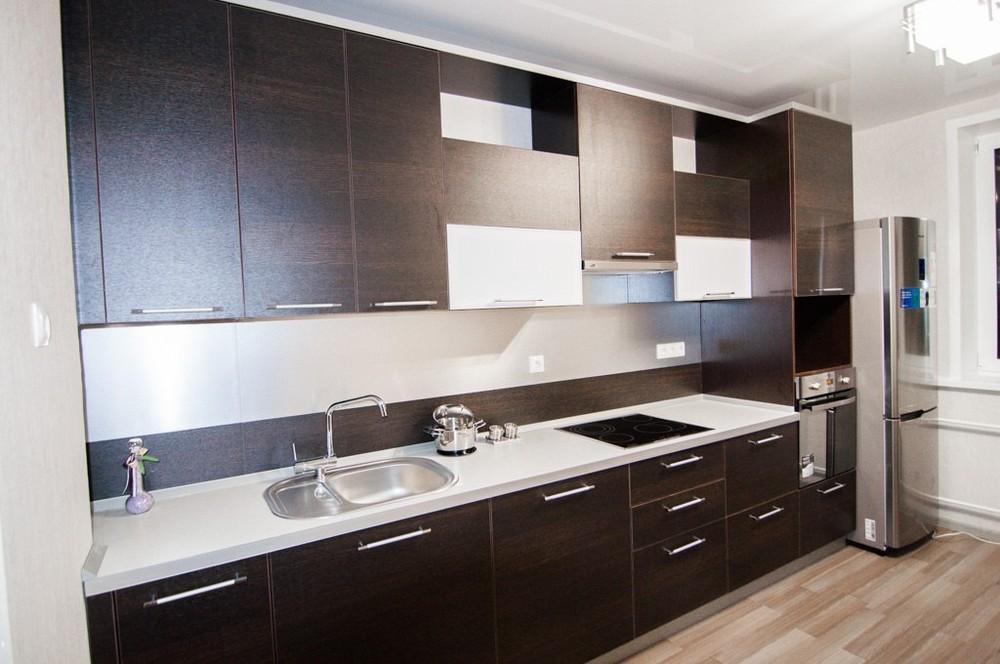 Встроенная кухня-Кухня из ЛДСП «Модель 151»-фото3