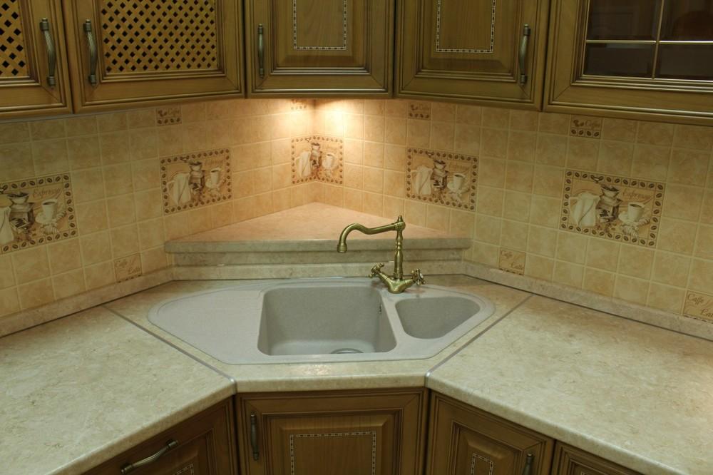 Встроенная кухня-Кухня из массива «Модель 127»-фото9