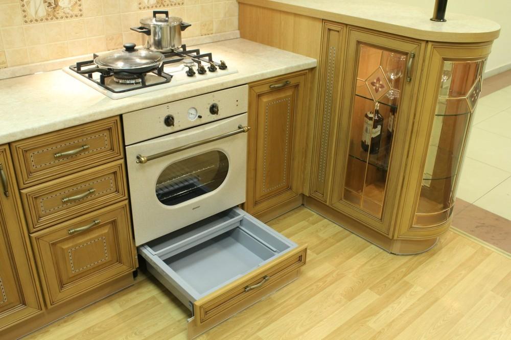 Встроенная кухня-Кухня из массива «Модель 127»-фото11