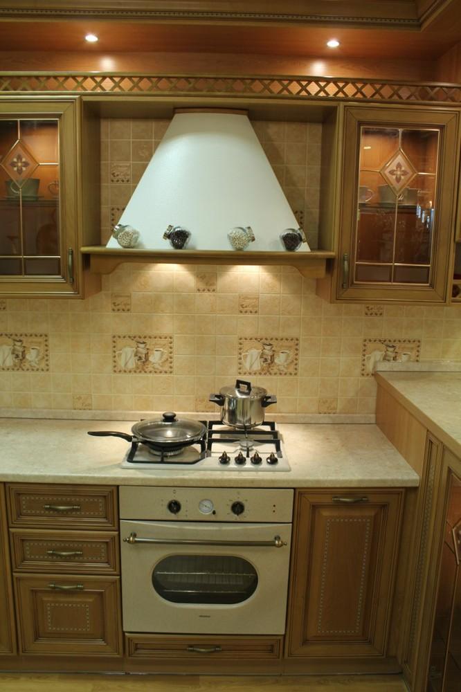 Встроенная кухня-Кухня из массива «Модель 127»-фото13