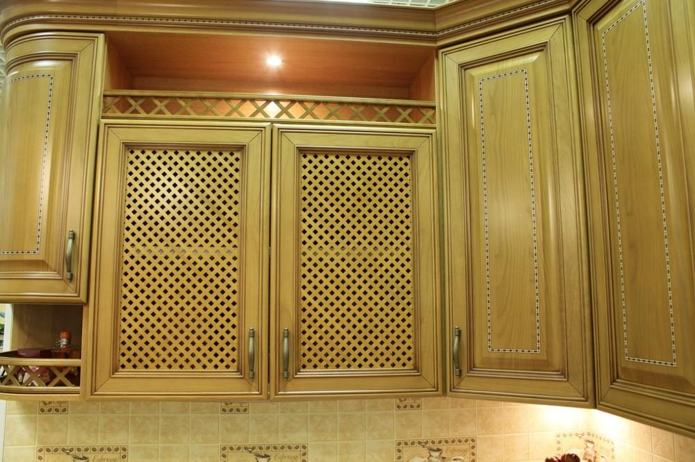 Встроенная кухня-Кухня из массива «Модель 127»-фото15