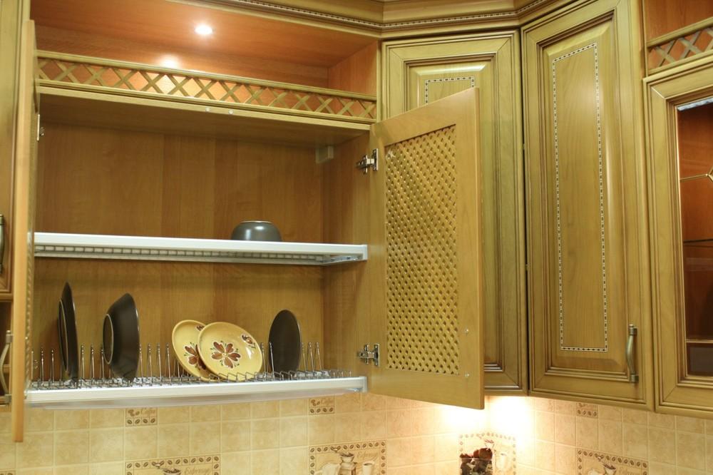 Встроенная кухня-Кухня из массива «Модель 127»-фото16