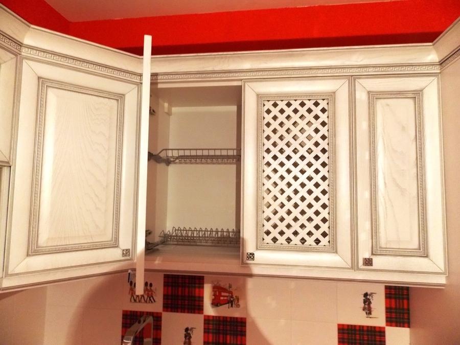 Встроенная кухня-Кухня из шпона «Модель 13»-фото5