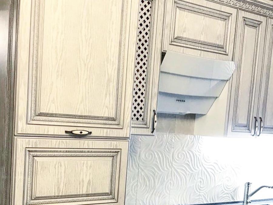 Встроенная кухня-Кухня МДФ в ПВХ «Модель 58»-фото7