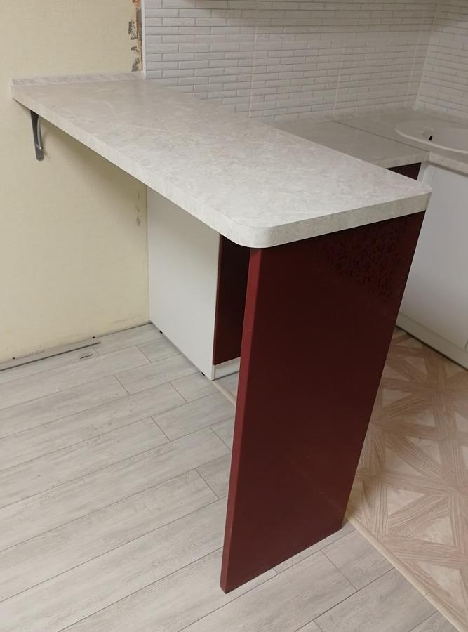 Встроенная кухня-Кухня МДФ в эмали «Модель 18»-фото5