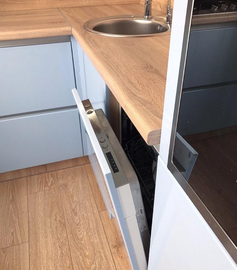 Встроенная кухня-Кухня МДФ в ПВХ «Модель 37»-фото5