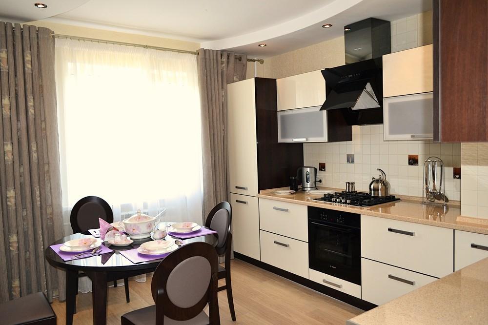 Акриловые кухни-Кухня из акрила «Модель 284»-фото3