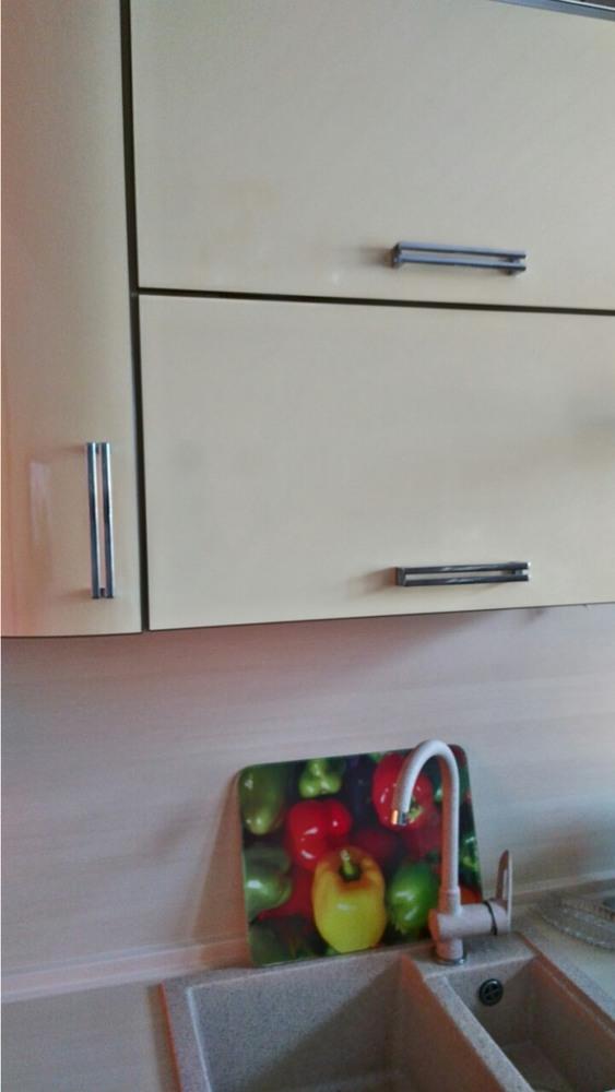 Глянцевые кухни-Кухня из шпона «Модель 344»-фото4