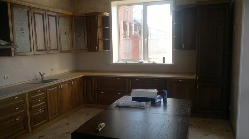 Встроенная кухня-Кухня из шпона «Модель 333»-фото2