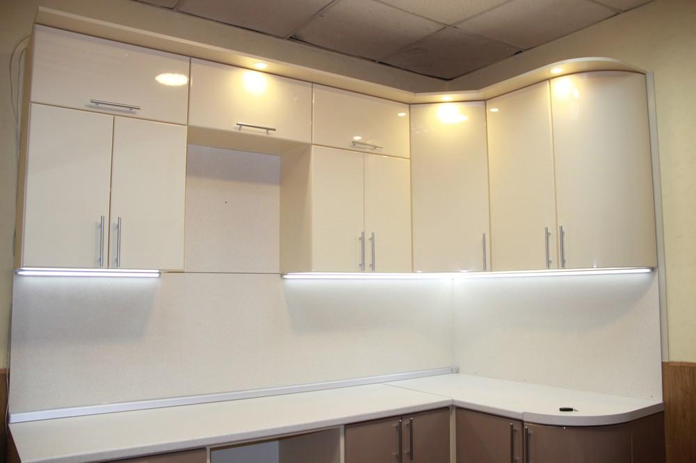 Встроенная кухня-Кухня МДФ в ПВХ «Модель 362»-фото3
