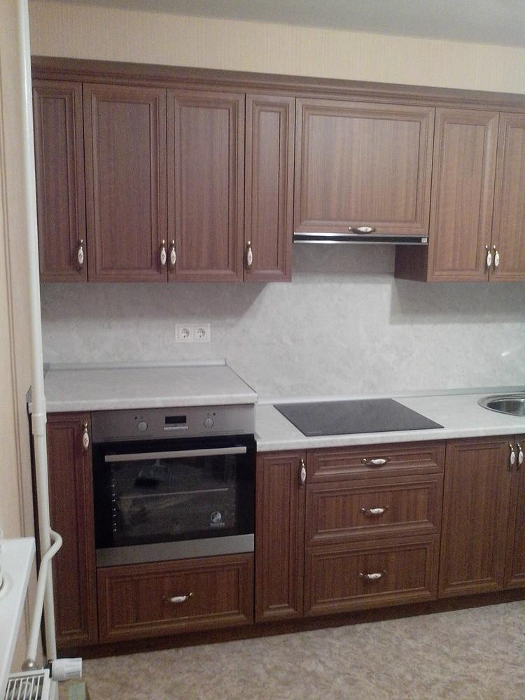 Акриловые кухни-Кухня из пластика «Модель 331»-фото4