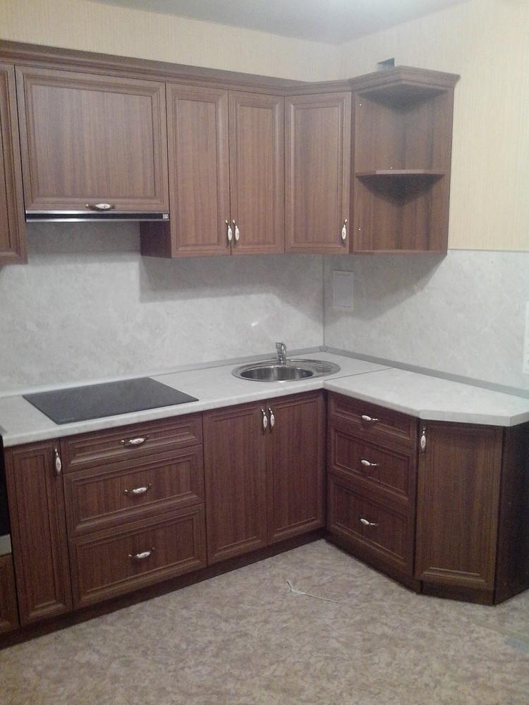 Акриловые кухни-Кухня из пластика «Модель 331»-фото5