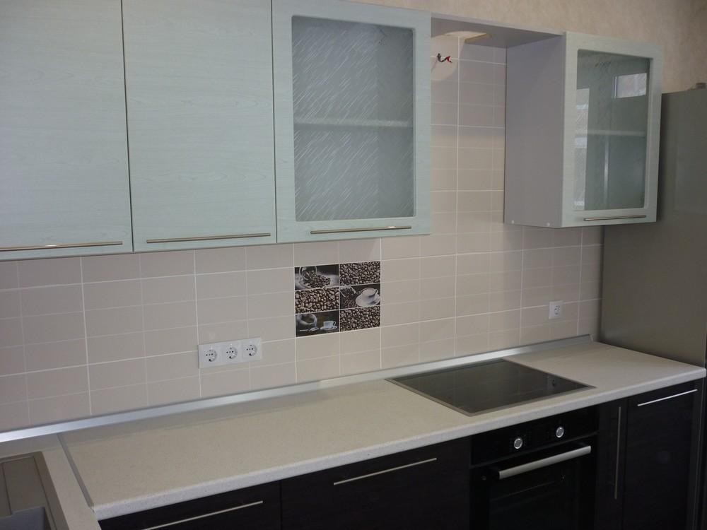 Встроенная кухня-Кухня МДФ в ПВХ «Модель 206»-фото2