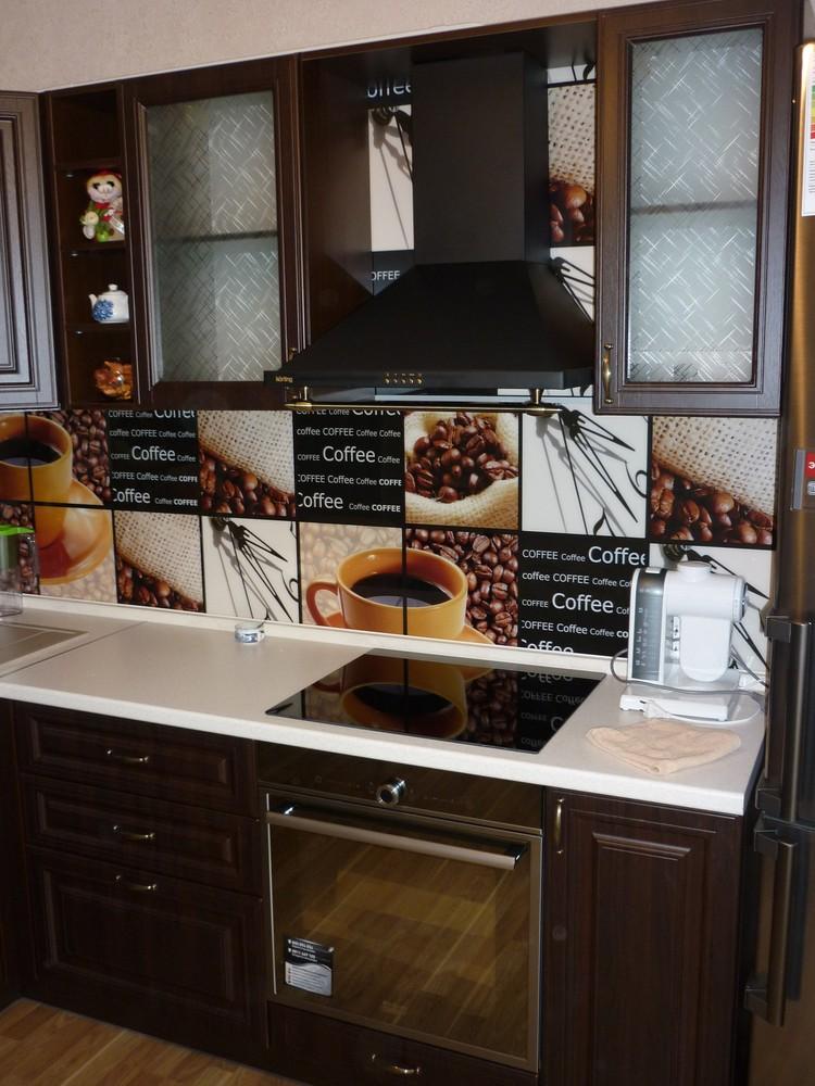 Встроенная кухня-Кухня МДФ в ПВХ «Модель 227»-фото6
