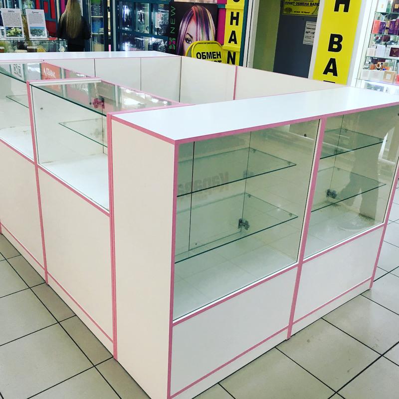 Торговая мебель-Торговый островок «Модель 266»-фото1