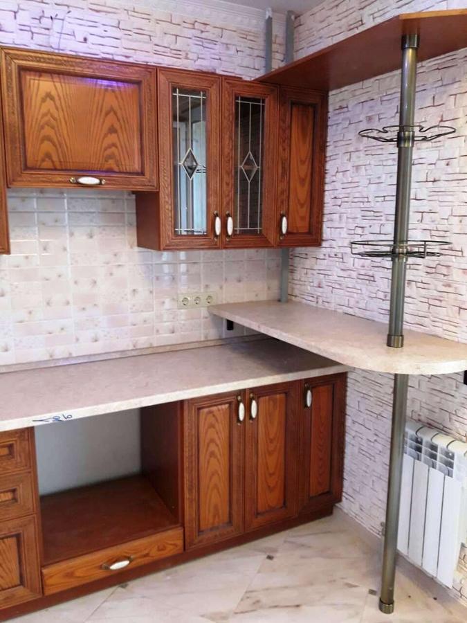 Кухни на заказ-Кухня из шпона «Модель 345»-фото6