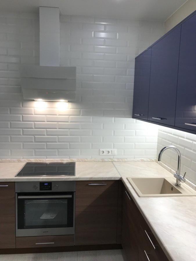 Купить кухню-Кухня из пластика «Модель 434»-фото2