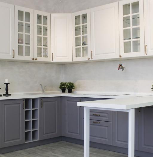 -Кухня МДФ в ПВХ «Модель 282»-фото20