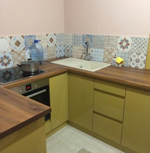-Кухня МДФ в эмали «Модель 90»-фото10