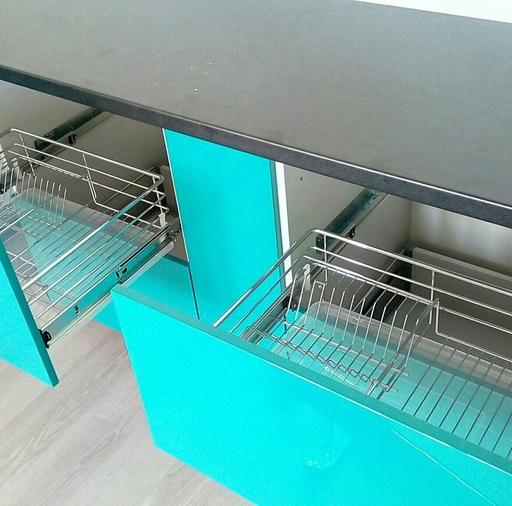 Глянцевые кухни-Кухня из пластика «Модель 370»-фото3