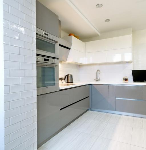 Акриловые кухни-Кухня из акрила «Модель 411»-фото4