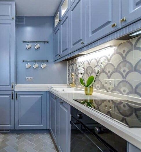 -Кухня МДФ в эмали «Модель 420»-фото16