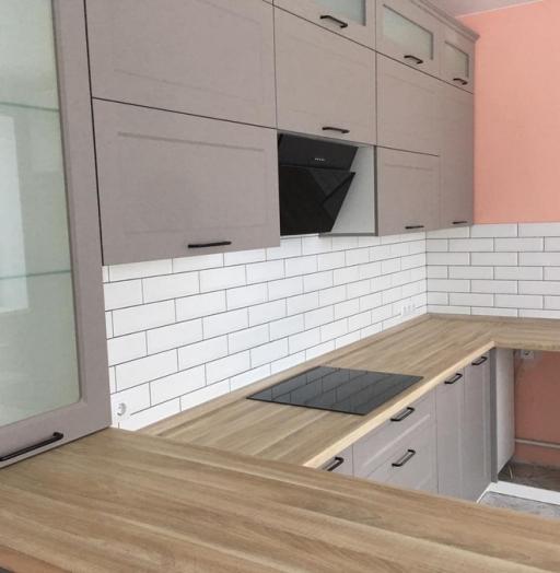 -Кухня МДФ в ПВХ «Модель 441»-фото23