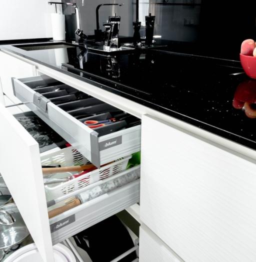 -Кухня из пластика «Модель 343»-фото5
