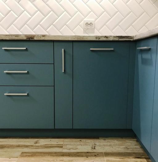 -Кухня из пластика «Модель 373»-фото6