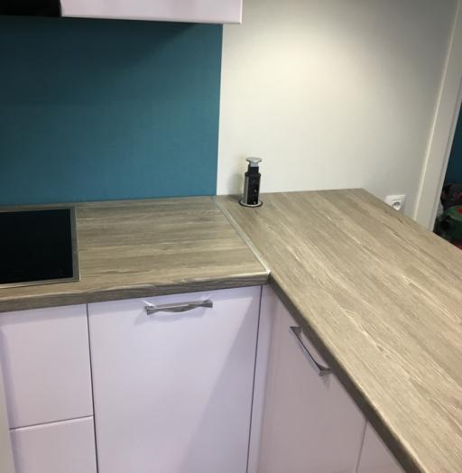 Белый кухонный гарнитур-Кухня МДФ в ПВХ «Модель 63»-фото6
