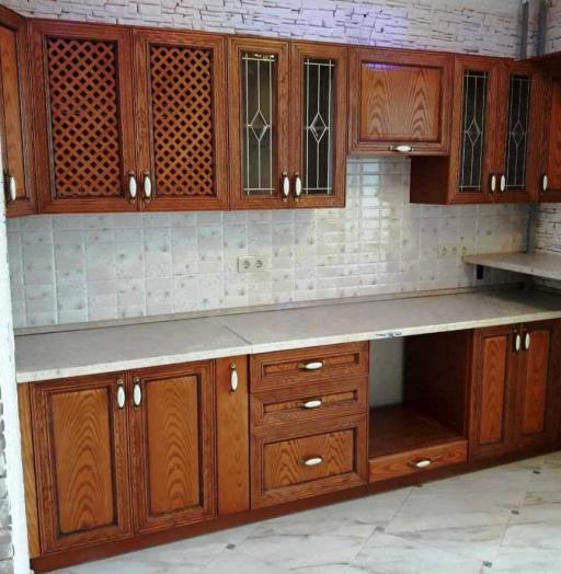 Кухни на заказ-Кухня из шпона «Модель 345»-фото7