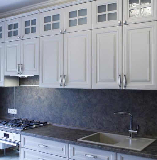 -Кухня МДФ в ПВХ «Модель 147»-фото15