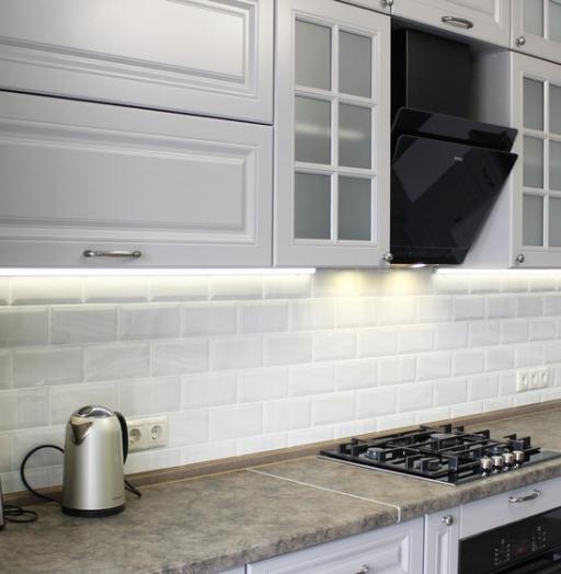 -Кухня МДФ в ПВХ «Модель 183»-фото19