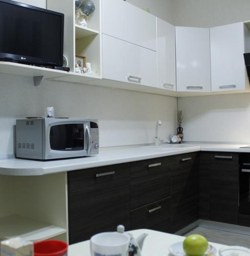 Встроенная кухня-Кухня из ЛДСП «Модель 186»-фото8