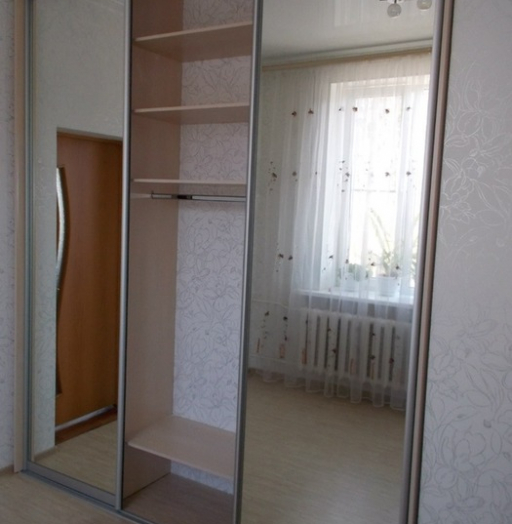 Большой шкаф-купе-Шкаф-купе с зеркалом «Модель 100»-фото4