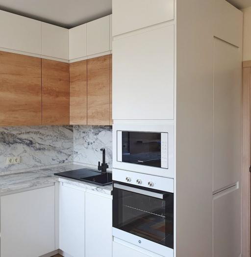 -Кухня МДФ в эмали «Модель 526»-фото17